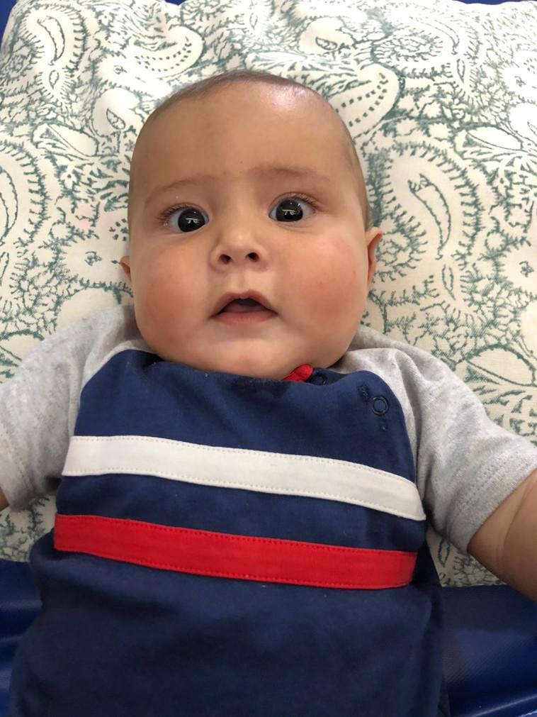 תינוקה של אנטונלה יחייב (צילום: דוברות המשטרה)