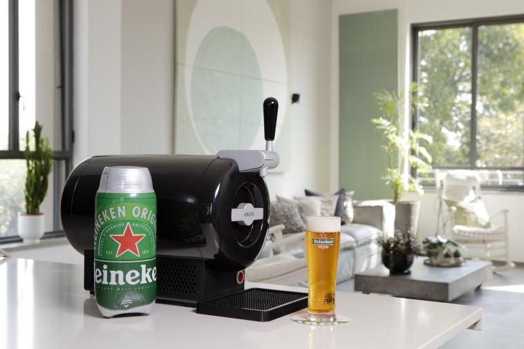 חבית בירה במטבח  (צילום: יח''צ חו''ל)