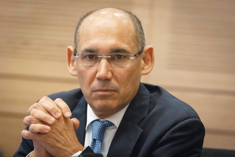 הנגיד, פרופ' אמיר ירון  (צילום: יונתן זינדל פלאש 90)