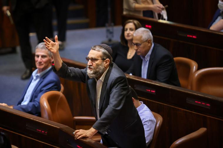 משה גפני בדיון על חוק האזרחות (צילום: נועם מושקוביץ, דוברות הכנסת)