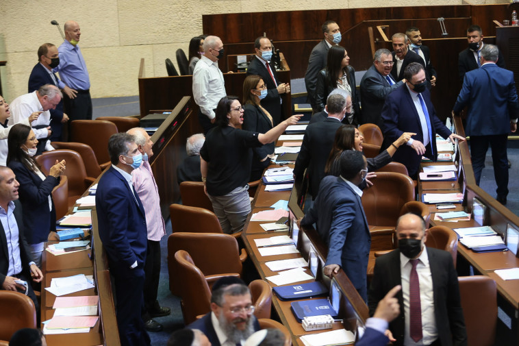 ההצבעה על חוק האזרחות (צילום: נועם מושקוביץ, דוברות הכנסת)