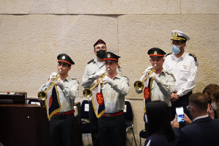 The 11th President's swearing-in ceremony (Photo: Noam Moskowitz, Knesset Spokeswoman)