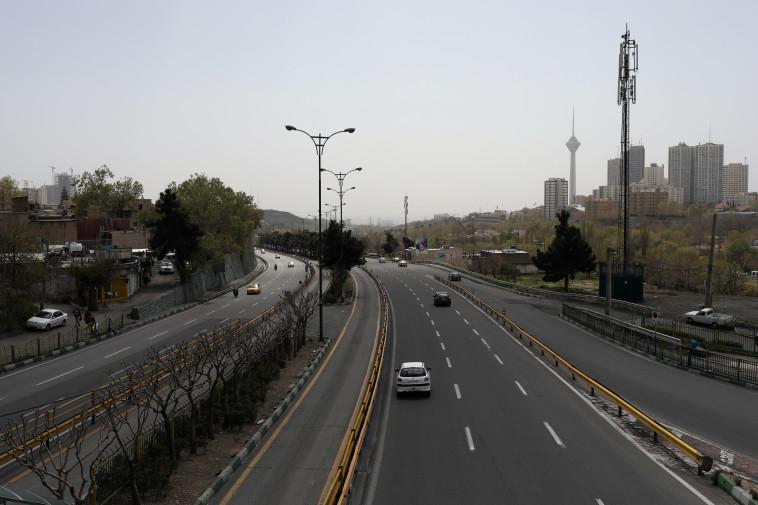 כביש מהיר באיראן (צילום: WANA (West Asia News Agency)/Ali Khara via REUTERS)