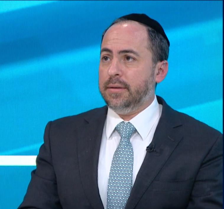 יהודה אייזיקוביץ, מנהל מרכז מידע חרדי (צילום: צילום פרטי)