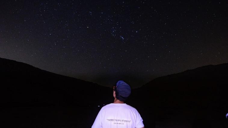 שירת הכוכבים בירוחם (צילום: מרדכי גורדון)