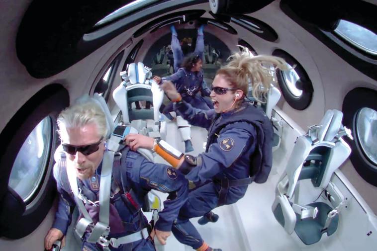 הטיסה של ריצ'ארד ברנסון  (צילום: רויטרס)