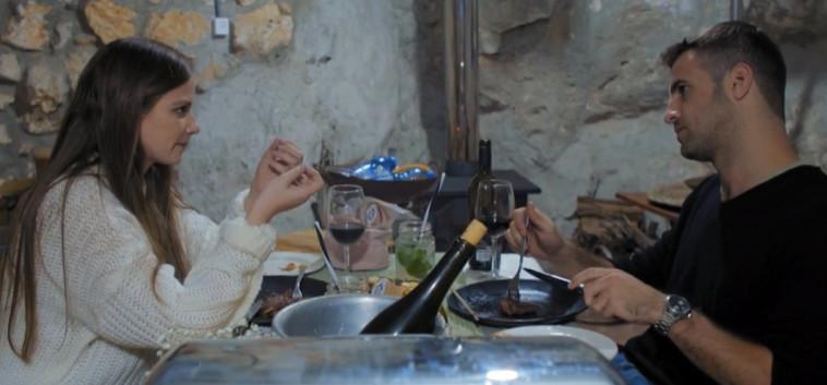 קארין ואיתמר, מתוך חתונה ממבט ראשון (צילום: צילום מסך ערוץ 12)