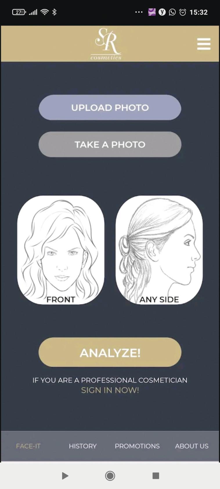 אפליקציית Face It (צילום: צילום מסך)
