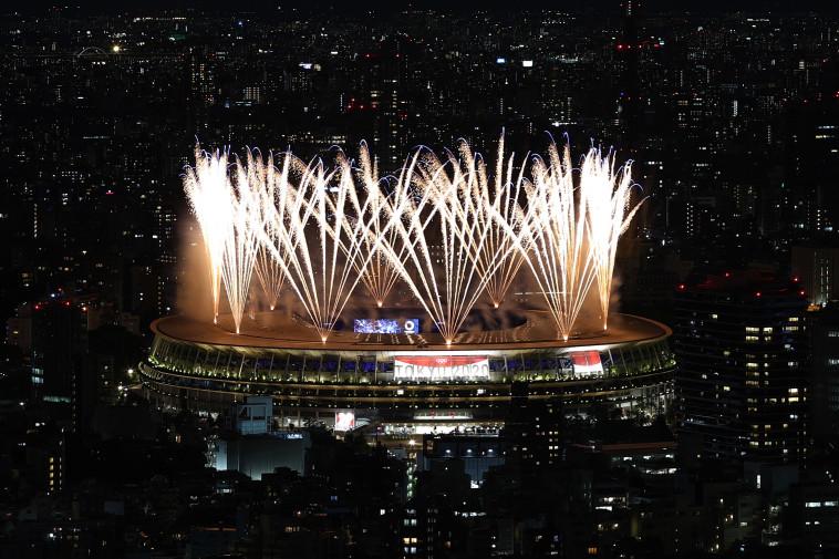 טקס הפתיחה של אולימפיאדת 2020 (צילום: REUTERS/Kim Kyung-Hoon)