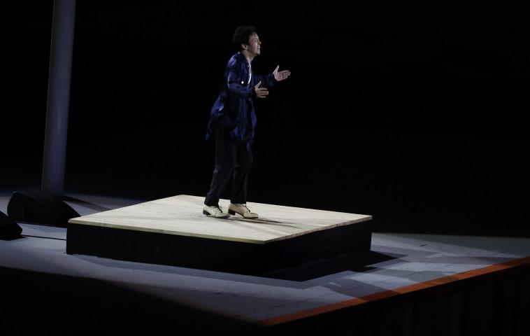 טקס הפתיחה של אולימפיאדת 2020 (צילום: REUTERS/Phil Noble)