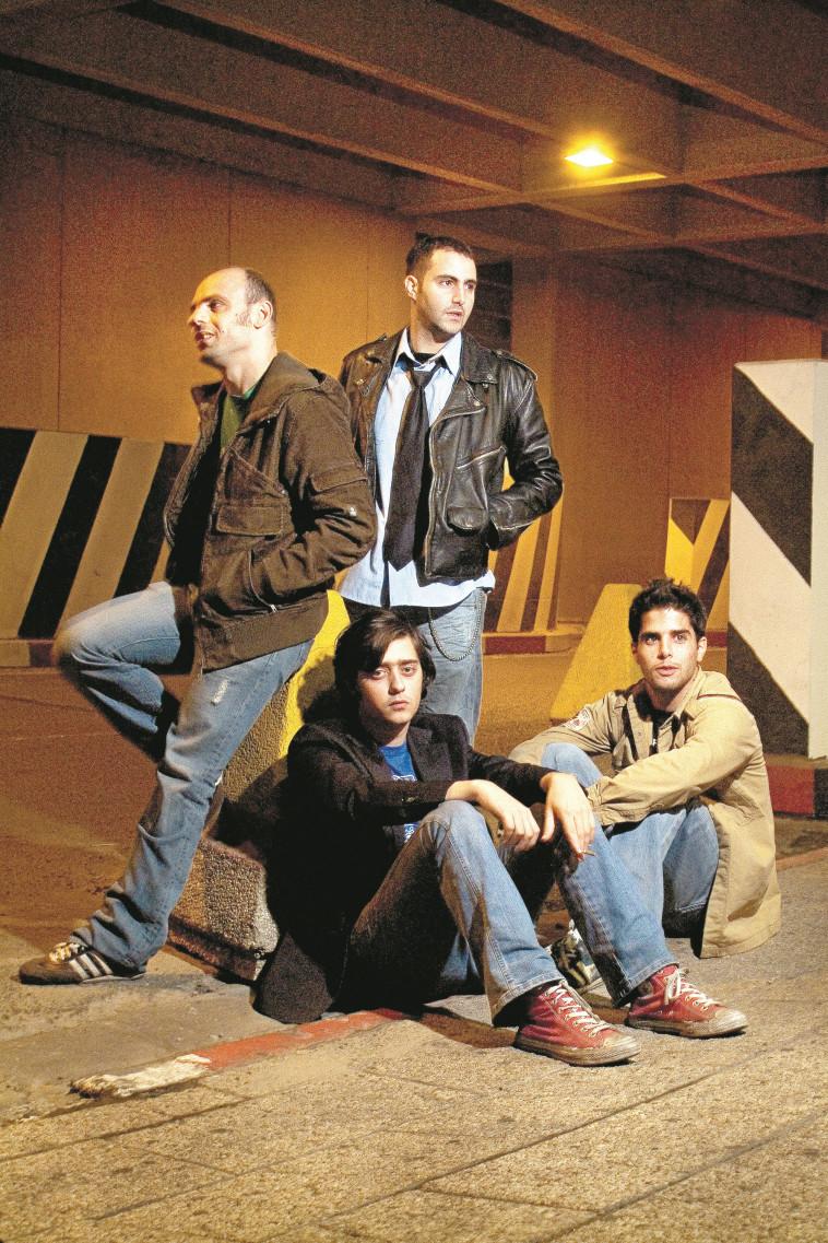 להקת ''שייגעצ'' (צילום: קובי קלמנוביץ')