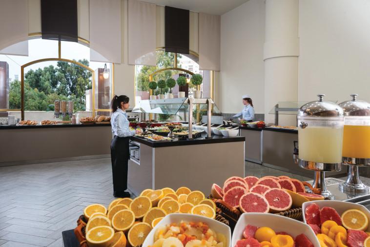מסעדת המיראז', מלון לאונרדו בבאר שבע (צילום: יחצ)