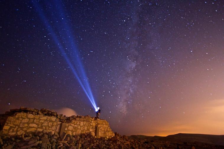 אסטרונומיה בירוחם (צילום: סימון בן ישי )
