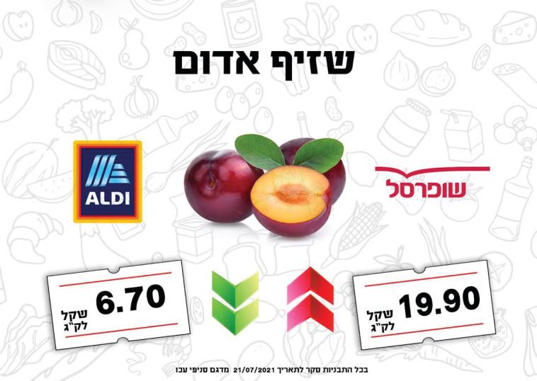 מחירי שזיף אדום בישראל  (צילום: ללא)
