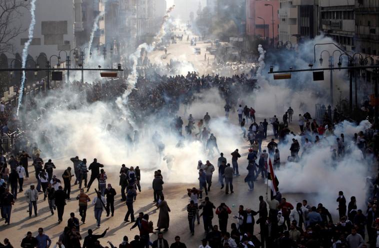 עימותים במצרים (צילום:  REUTERS/Amr Abdallah Dals)