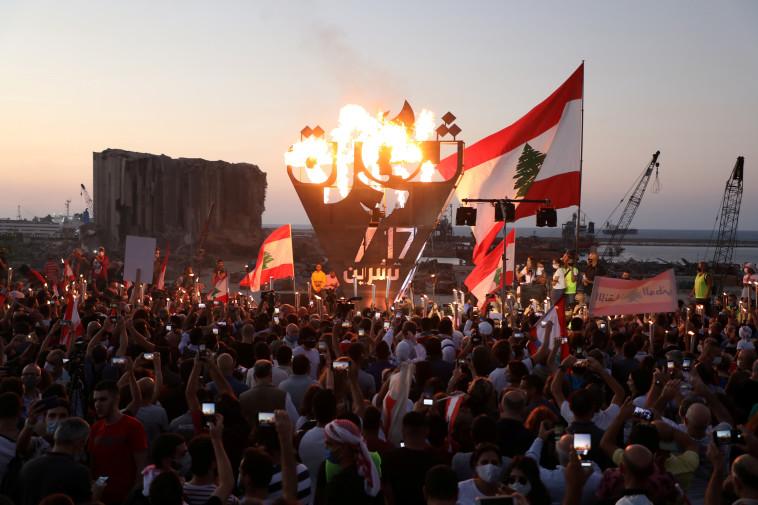 עימותים בלבנון (צילום: REUTERS/Mohamed Azakir)