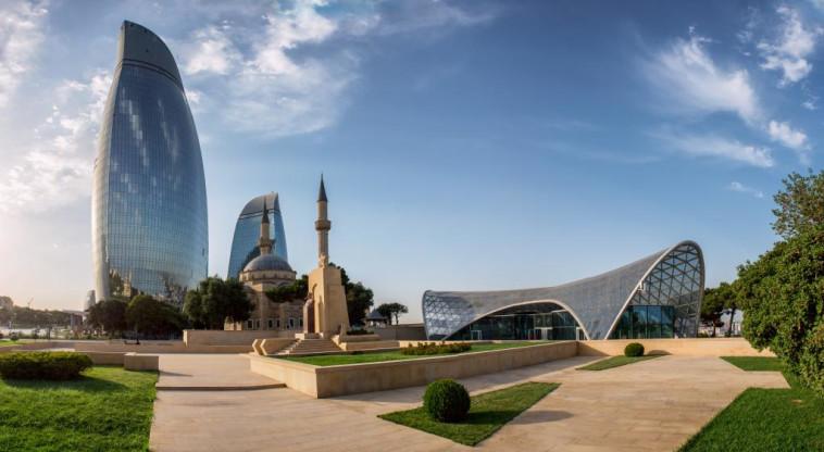 באקו בירת אזרבייג'אן (צילום: שאטרסטוק)