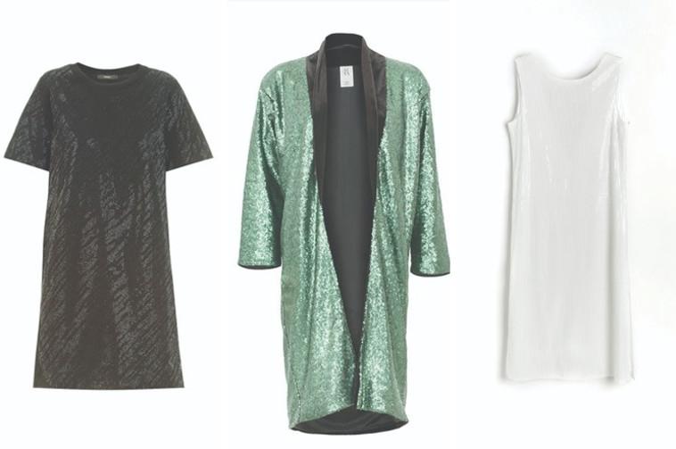 שמלות מנצנצות: Disel, Asia, Reserved (משמאל לימין) (צילום: אסף לוי,יחצ,עינב כפיר ורותם לובל)