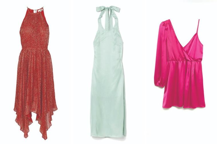 מימין לשמאל: מנגו, H&M, Factory54 (צילום: הנס מוריץ,PR,יחצ חול)