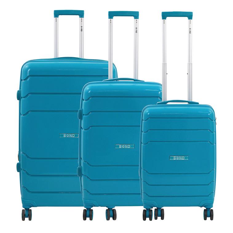 סט מזוודות קשיחות בונד  (צילום: סטודיו תיק התיקים)