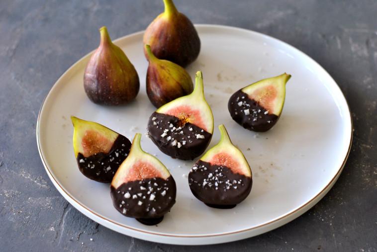 תאנים ושוקולד (צילום: פסקל פרץ-רובין)