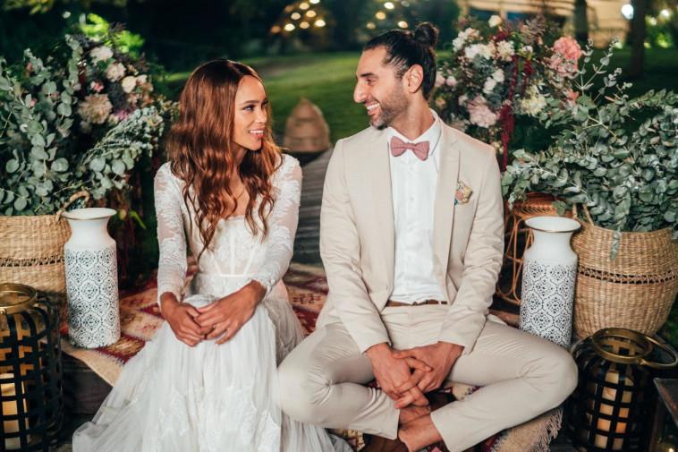 שי יעקובוביץ, הדס שוורץ, חתונה ממבט ראשון (צילום: לירון סער)