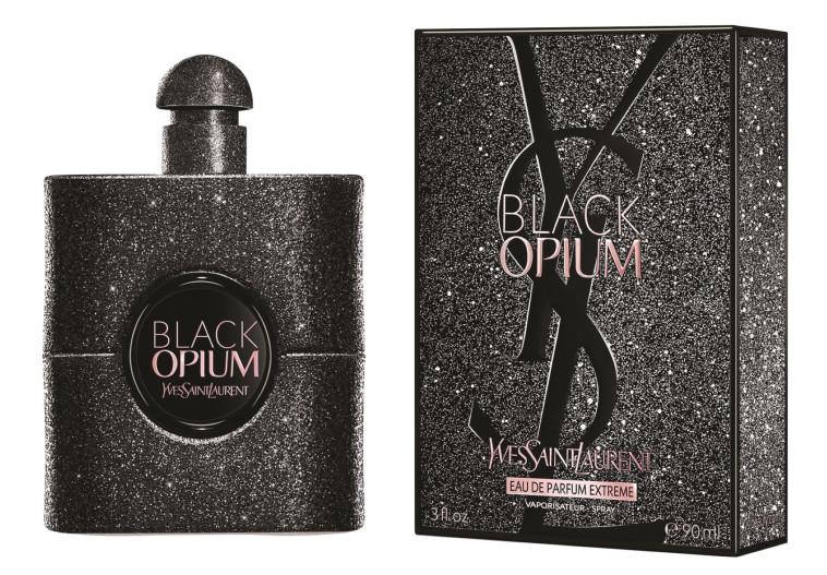 בושם לאישה BLACK OPIUM EXTREME, איב סאן לורן. מחיר: 409 שקלים (צילום: יח''צ)