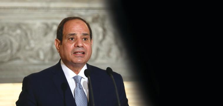 נשיא מצרים א-סיסי (צילום: רויטרס)