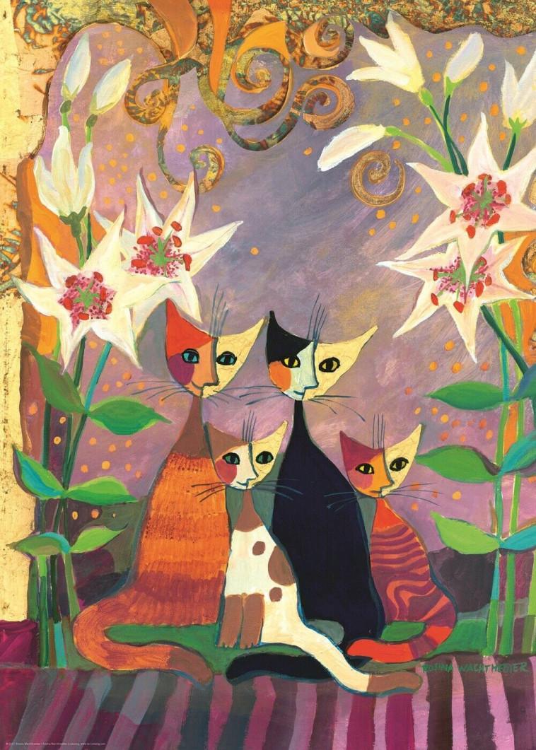 Lillies, de la serie de gatos de Rosina (Foto: Heye, cortesía de Family Glue)