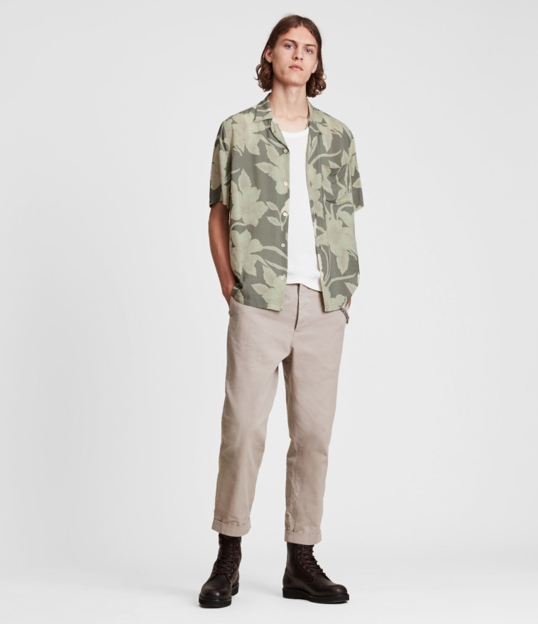 אול סיינטס ל-STORY. חולצה 449.90 שקלים. מכנסיים: 499.90 שקל (צילום: יח''צ)