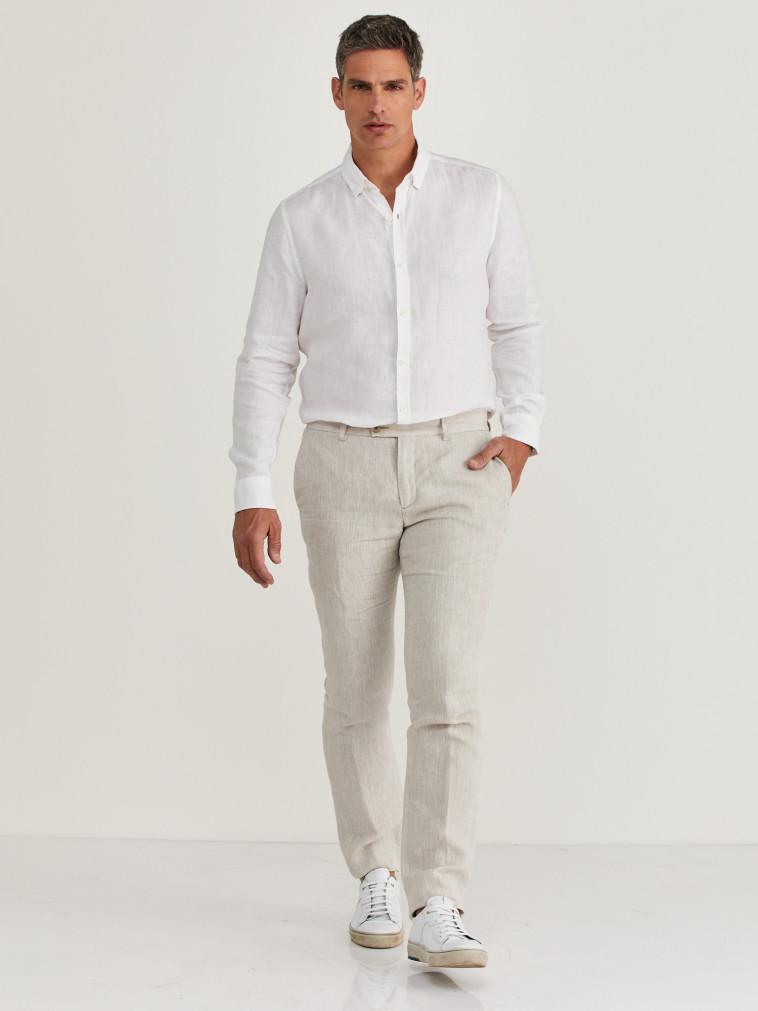 פולגת. חולצה: 119.90 שקלים. מכנסיים: 280 שקל (צילום: דור שרון)