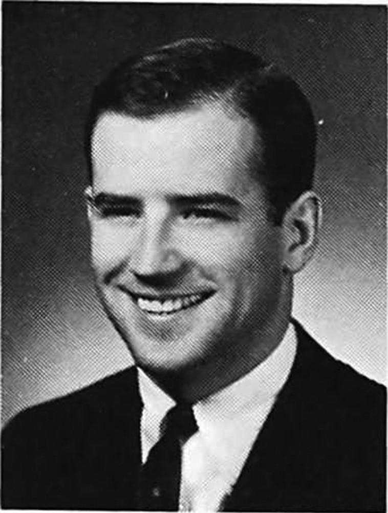 ג'ו ביידן בצעירותו (צילום: Syracuse University)