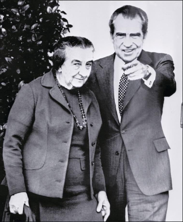 Golda Meir y Richard Nixon (Foto: AFP.GettyImages)