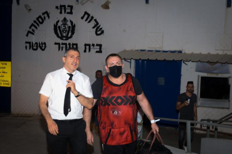 רומן זדורוב שוחרר למעצר בית (צילום: דוד כהן, פלאש 90)