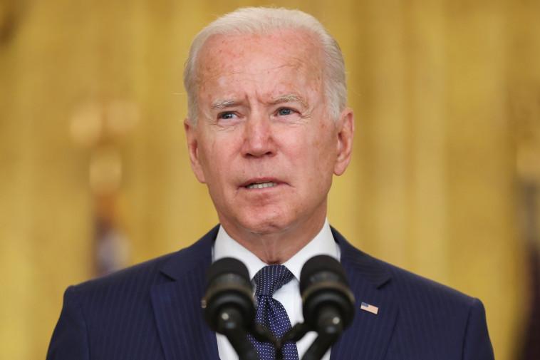 נשיא ארצות הברית, ג'ו ביידן (צילום: REUTERS/Jonathan Ernst)