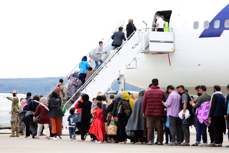 Evacuation of Afghan citizens (Photo: Andreas Rentz / Staff)