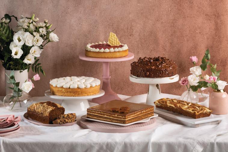 עוגות לראש השנה, מאפיית ביסקוטי (צילום: בועז לביא,סטיילינג: ענת לבל)