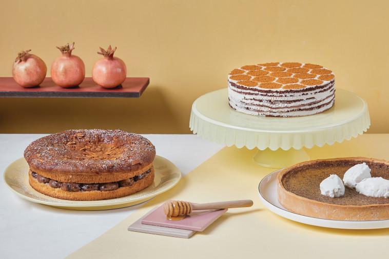 עוגות לראש השנה, בוטיק סנטרל (צילום: טל סיון ציפורין)