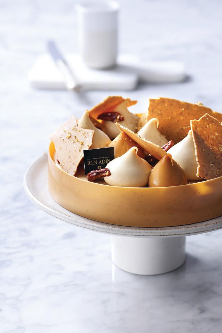 עוגת דולצ'ה פקאן מבית רולדין (צילום: רונן מנגן)