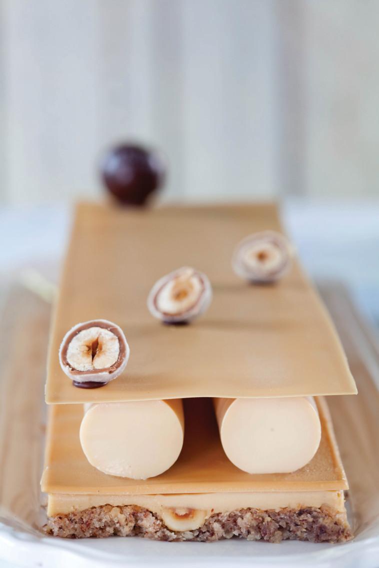 עוגת דולצ'ה לראש השנה מבית שמו (צילום: דניאל לילה)