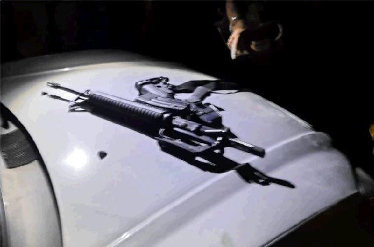 הנשק באמצעותו בוצע הירי בחברון לעבר החייל (צילום: תקשורת שב''כ)