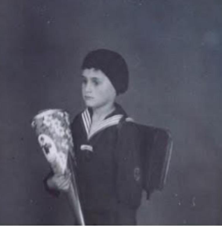 יחיאל הירשברג ז״ל קיבל מהוריו את הצוקרטוטה 6 שנים לפני שנספו בשואה (צילום: דני הירשברג, חבר קהילת הפייסבוק  Hoppe Hoppe Reiter, מבית ארגון יוצאי מרכז אירופה)