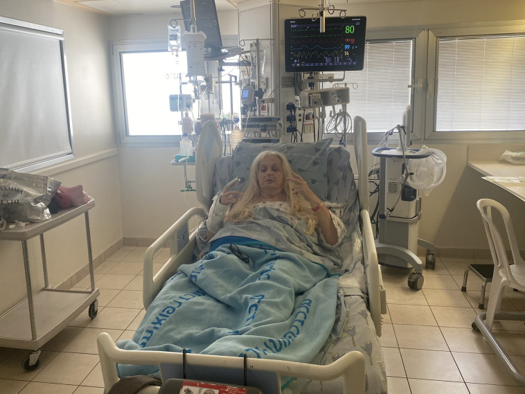 מירי אלוני (צילום: באדיבות בית החולים איכילוב)