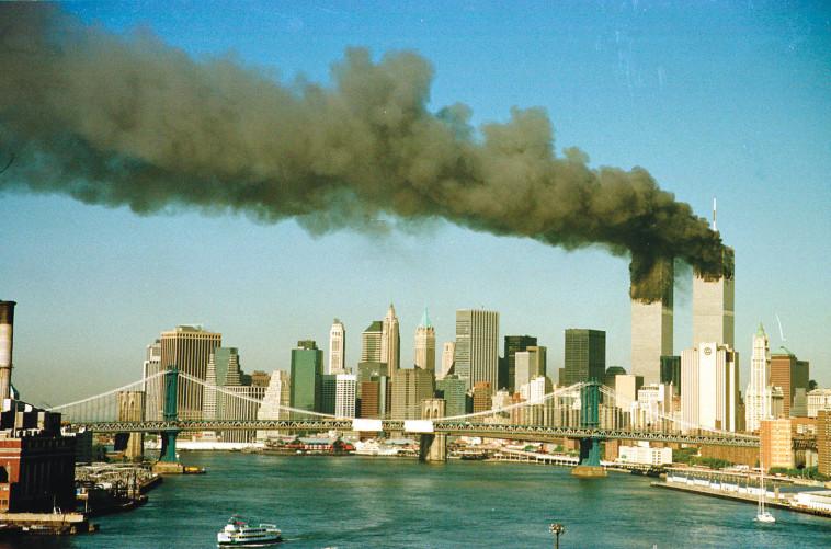 הפיגוע במגדלי התאומים, ה-11 בספטמבר (צילום: רויטרס)