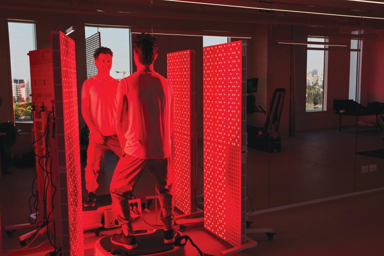 סאונה אינפרא אדום (צילום: ever lab)
