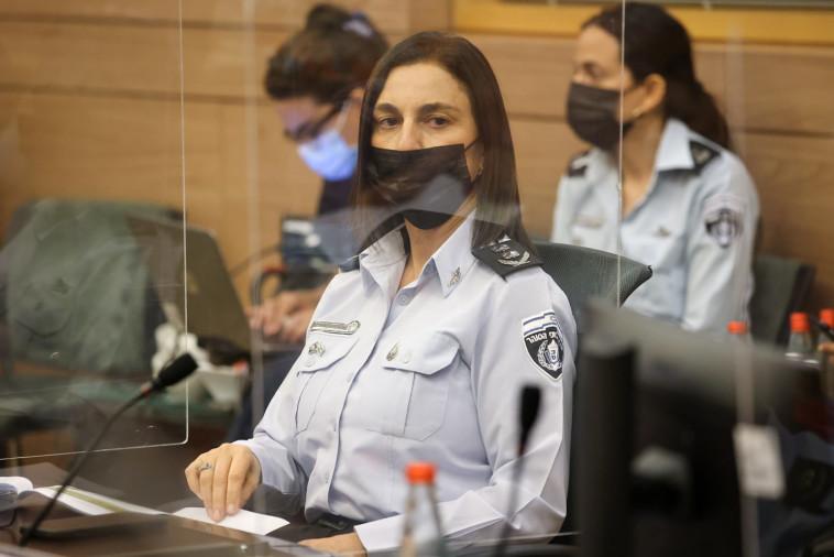 קטי פרי בוועדה לביטחון פנים (צילום: נועם מושקוביץ)