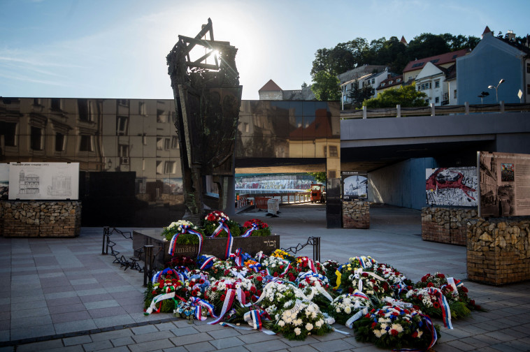 אנדרטת השואה בברטיסלבה  (צילום:  VLADIMIR SIMICEK / Contributor)