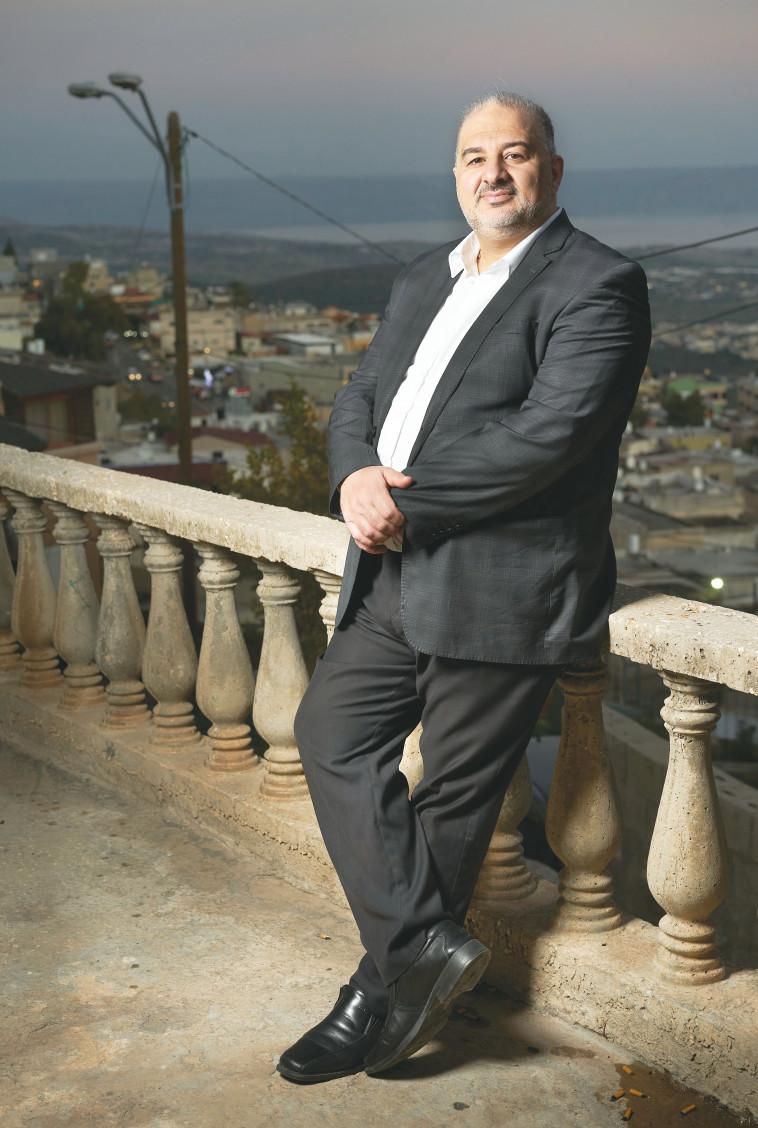 מנסור עבאס  (צילום: רמי זרנגר)