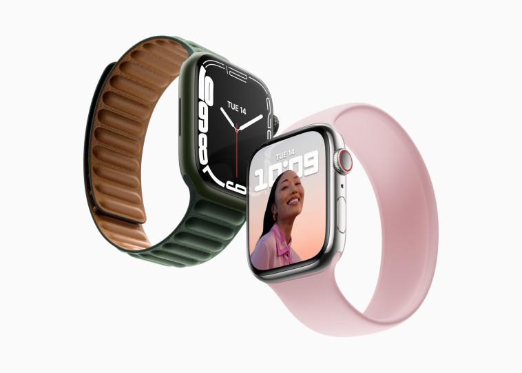 Apple Watch 7 (צילום: אפל)