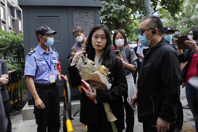 המתמחה שהתלוננה, ז'ואו שיאושואן (צילום: REUTERS/Tingshu Wang)